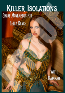 Killer Isolations Belly Dance DVD front cover