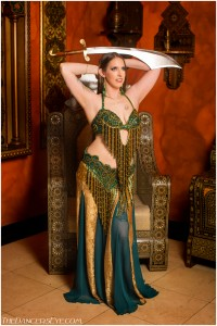 belly dance sword
