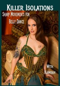 Kamrah's Killer Isolation Belly Dance DVD