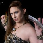 Kamrah with Belly Dance Sword