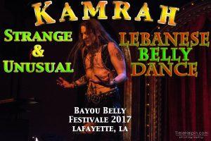 Kamrah at Bayou Belly Dance Festivale