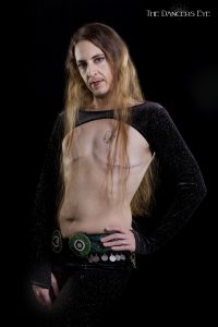 kamrah male belly dancer