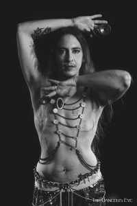 kamrah male belly dancer with zills