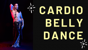Cardio belly dance with male belly dancer